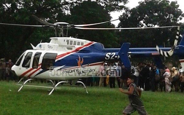 孟加拉富商搭直升机去婚礼 结果降落到监狱里