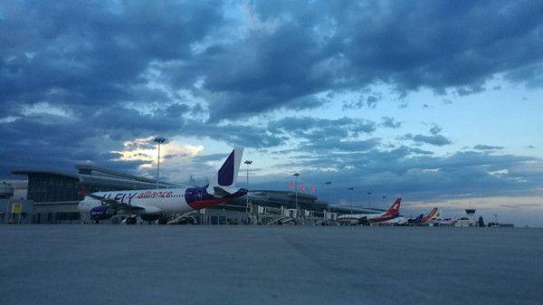 包头机场国际旅客吞吐量突破4万人次