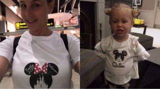 身穿米妮老鼠T恤 她们被机场休息室拒之门外!