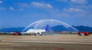 深耕支线:华夏航空首架空客A320顺利抵达