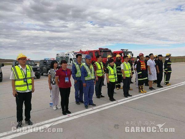 """""""运12F飞机起落架故障"""" 中航油内蒙古参与救援"""
