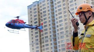 全程仅用25分钟!新疆首次开展航空救援演练