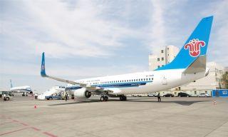 南航再进新飞机 助力新疆旅游旺季