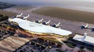 襄阳机场新航站楼9月下旬启用
