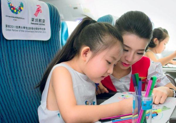 深航暑运运送490万旅客 保障无陪儿童近2万名