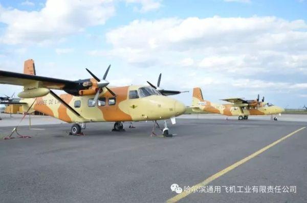 哈尔滨通用飞机公司完成2架运12E飞机出口交付