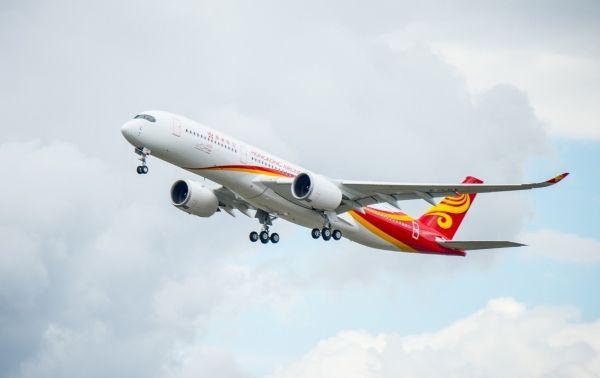香港航空首架A350抵港 全速迈向国际新里程