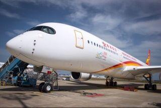 香港航空首架A350成功交付(来源:香港航空)