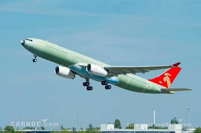 大鹏盛装王者归来 记深航首架A330监造工作
