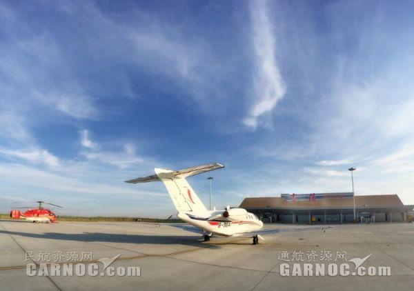 富蕴机场保障致远通航开展第二阶段飞培工作