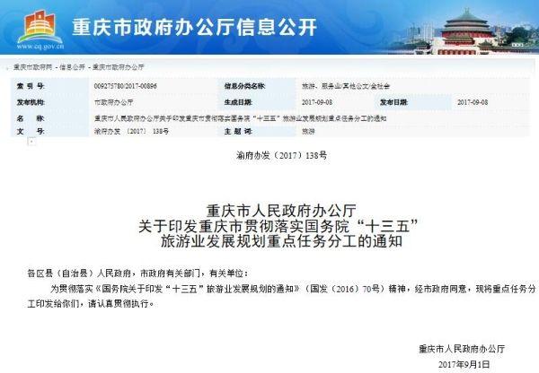 重庆:将出台低空旅游管理办法 强化安全监管