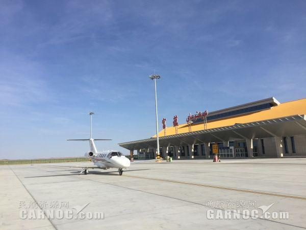 富蕴机场成功保障致远通航完成首次训练飞行