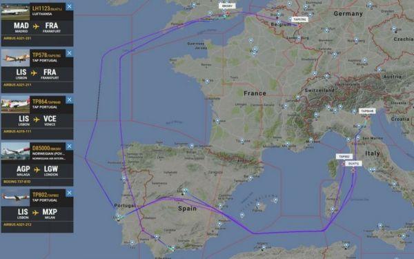 法国空管罢工 大量航班取消数千旅客陷入混乱