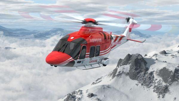 我国极地考察新添一架AW169船载直升机