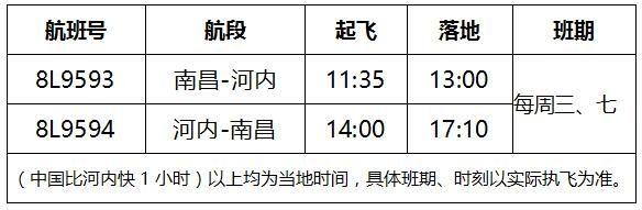 祥鹏航空9月17日开通南昌=河内国际航线