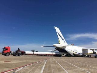 三十四米的挑戰-東方公務航空保障風車模具運輸