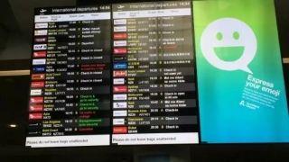 奥克兰机场大瘫痪 至少45个航班取消