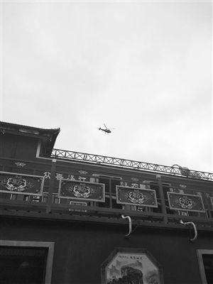 长春一家医院开业用直升机、飞艇造势 噪音扰民
