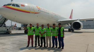 罗罗支持空客中国全新A330完成交付中心启用