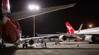 """澳航利用波音747缓解奥克兰机场""""燃油之急"""""""