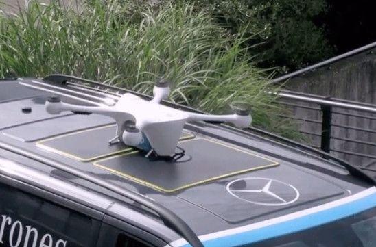 瑞士新型自主无人机物流网络完成首次交付