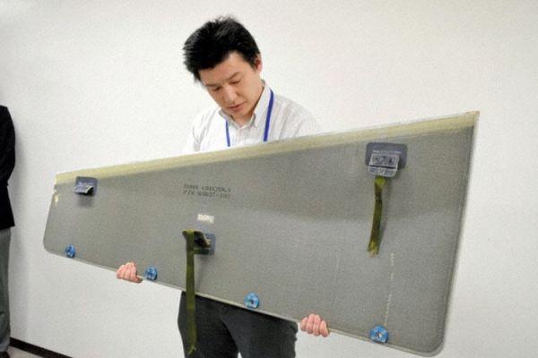 一周两起 日本客机飞行中零件掉落砸中工厂