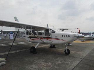 精功通航GA8首现西南地区 助力四川国际航展