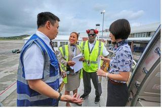 接你们回家!中国从加勒比群岛撤回受灾同胞