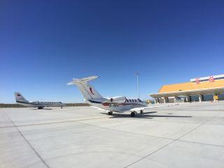 富蕴机场保障致远航空完成学员飞行训练工作