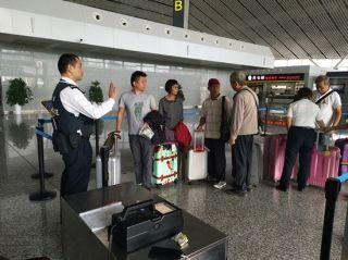 张家界机场十一黄金周运送旅客约5.3万人次