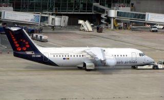 """布鲁塞尔航空:""""告别""""最后一架Avro RJ100"""