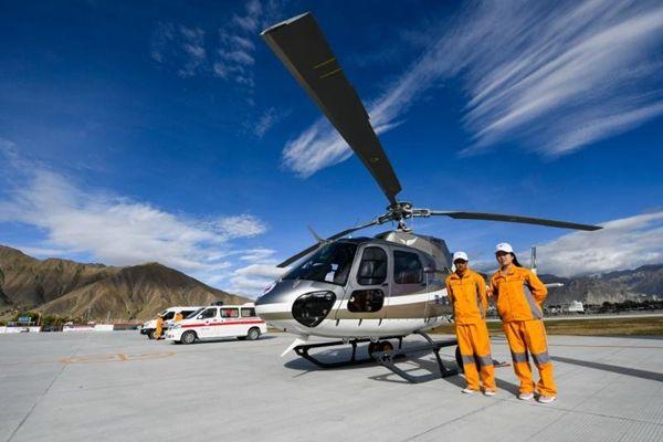 首家高海拔应急救援中心成立 配最新型直升机