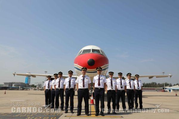 东航山东:A319十七年飞行生涯划上圆满句号