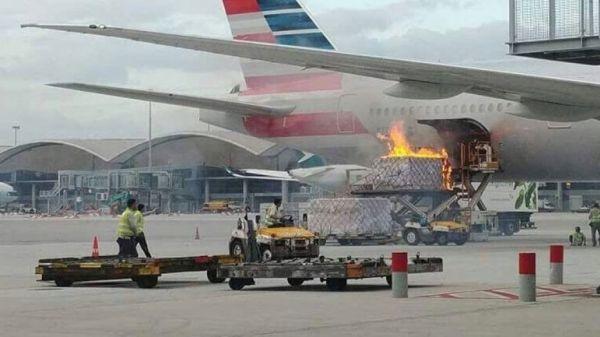 民航早报:香港机场装货车着火,一地勤受轻伤