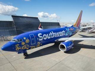 西南航空推出迪士尼动画主题涂装波音737飞机