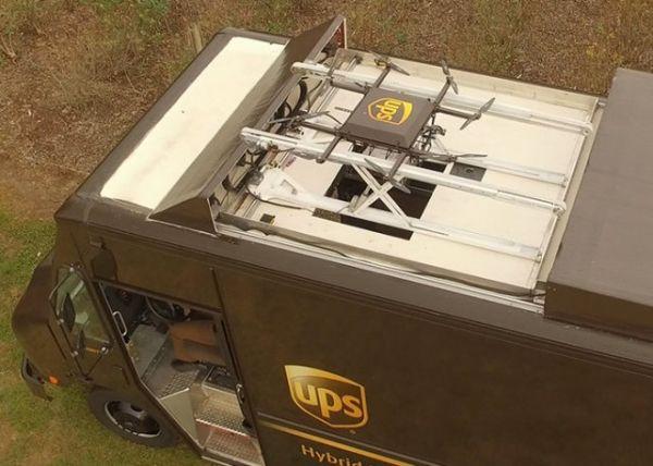 UPS展示概念无人机送货系统 可同时送2个包裹