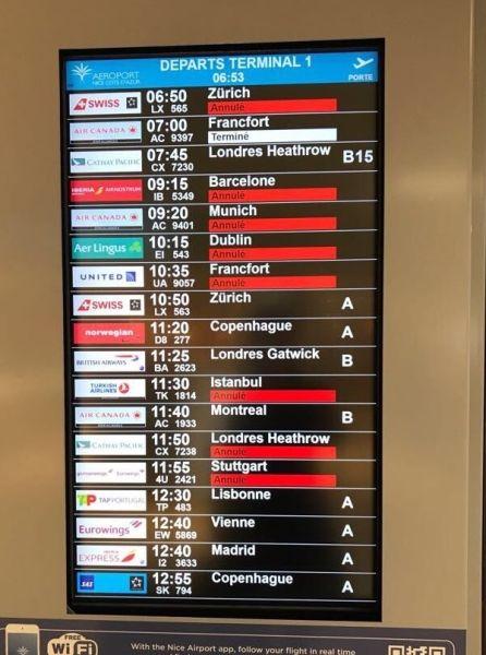 又罢工!法空管参加全国性罢工 45万乘客遭殃