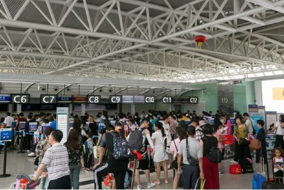 海航机场集团十一黄金周运送旅客109万人次