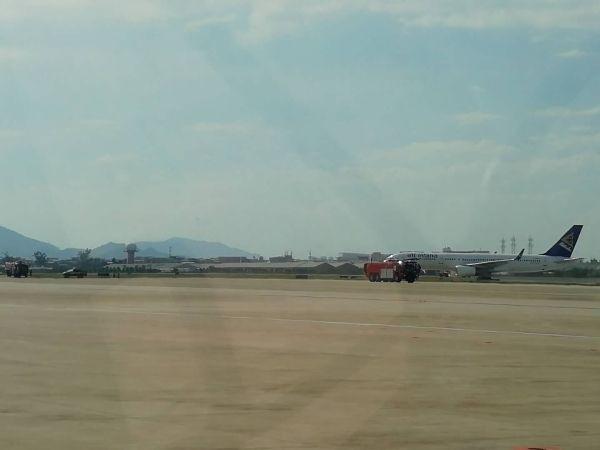 KC1392航班安全落地 机上未搭载任何客货