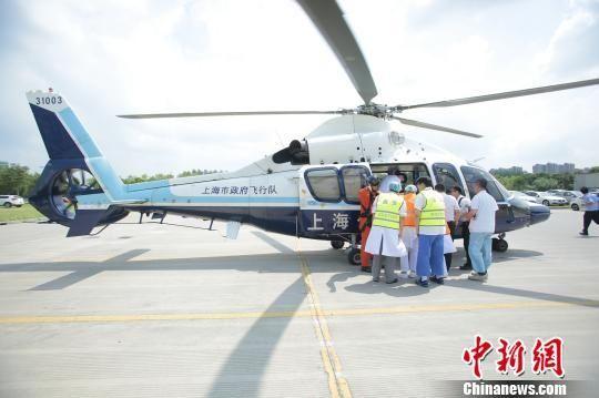 上海瑞金医院首批航空医疗救援队员捷克受训