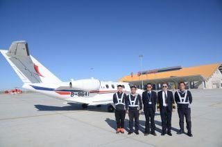 富蕴机场保障致远通航完成2017年全部飞训计划