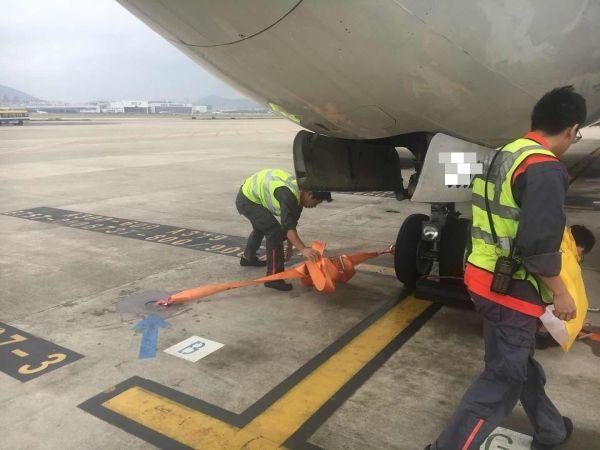在此次台风防御期间,海航技术作为海南地区最大的航空维修保障企业