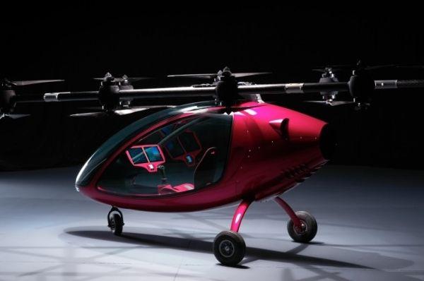 瑞士乘客无人机完成飞行测试 速度达80公里/小时