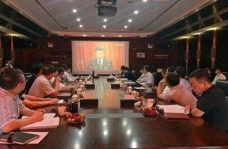 龙浩集团党委组织集中收看十九大开幕会