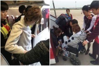"""护送重病旅客,首都航空获赞""""家人般的温暖"""""""