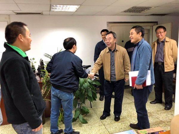 民航二所党委书记张忠华调研后勤分公司
