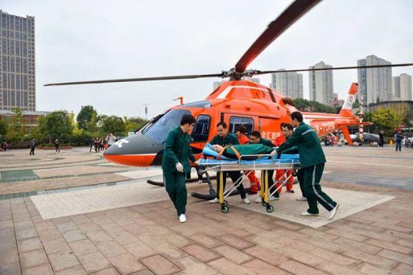 湖南株洲市中心医院正式启动空中医疗救援项目