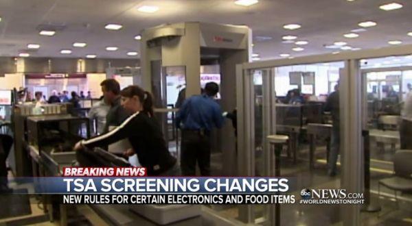 坐飞机去美国?乘客登机前可能要接受安检谈话