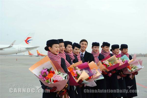 東航甘肅第10架空客A320飛機順利抵蘭