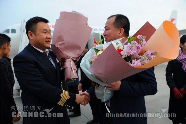 10月29日,东航甘肃分公司迎来第10架空客A320飞机,注册号B-1018。